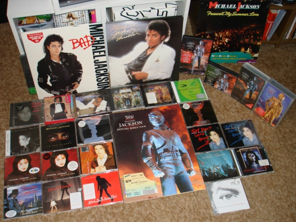 My Michael Jackson collection