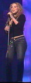 Mariah in Munich - November 2, 2002 - lick for more screen captures