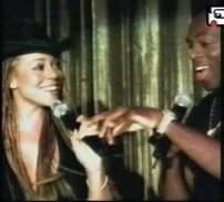 Mariah & Joe in Thank God I Found You remix video