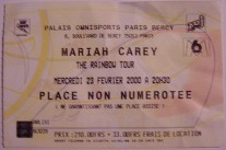 My Ticket - Paris - 23.02.2000