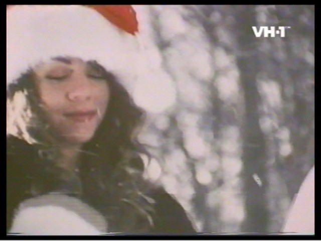Screen Captures from Mariah's Christmas Videos